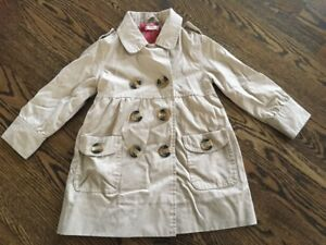 Girls size 2T trench coat