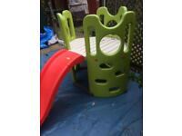 Smoby slide climbing frame and tunnel play centre tower like new