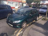 PEUGEOT 206 ROLLAND GARROS AUTOMATIC 2001 PRIVATE PLATE GOOD RUNNER £550