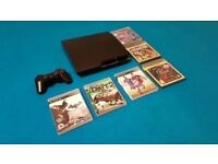 Playstation 3 Slim Bundle with 6 Games