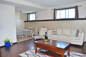 Bright, Spacious, and clean with private parking and yard space!