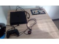 PS4 console with 8 games all in excellent condtion