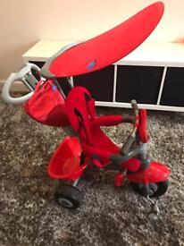 Smart trike 3 in 1 red