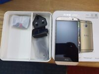 HTC One M8 - 16GB - gold and Gray (Unlocked) Smartphone