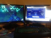 2x 21 inch Samsung PC monitors