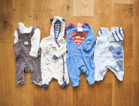 Baby Boy Newborn Bundle - 32 Items - £15