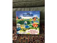 Pressman The Smurfs Race To Smurf Village Board Game Boxed