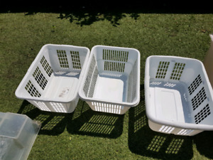 Laundry baskets  (SOLD separately)