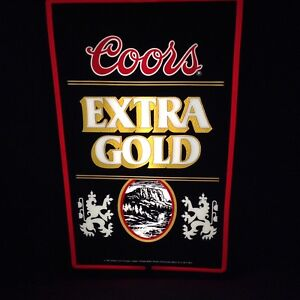 Coors Extra Gold Sign