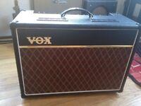 Vox Ac15 with Celestion Alnico Blue Speaker