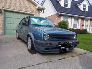 1990 mk2 VW jetta