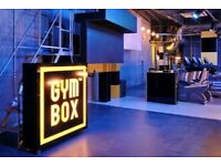 GymBox membership for sale