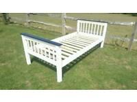 Can deliver: solid wooden pine single bed frame. Wood. Base. Bedstead.