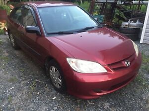 2005 Honda Civic special edition
