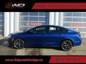 2015 Chrysler 200 S Sport 3.6L V6 Sunroof Navigation