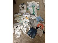 Baby clothes 0-3m (bundle of clothes)