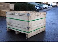 WOODEN CRATES *Free for collection* *Available in an assortment of medium and large sizes*