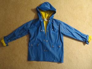 Unisex Child's Rain Coat. Size 12. Like New.