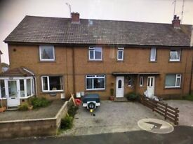 Available to rent: three bed mid terrace, Bridge of Dee, Castle Douglas, Dumfries & Galloway