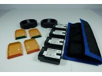 Canon LP-E6 compatible Batteries, charger and case