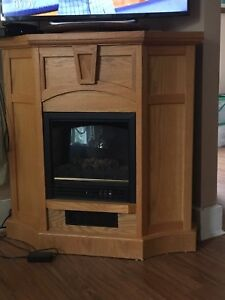 Free electric fireplace  gone ppu
