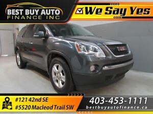 2011 GMC Acadia Sle-2 AWD $139/Bi-weekly