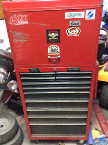 Used top and bottom tool boxes