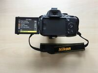 Nikon D5100 SLR camera 18-55mm lens