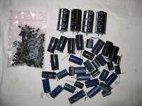 Transistors and capacitors