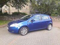 Fiat grande punto 1.2 8v petrol 2006 5dr 10 months mot, 69k miles