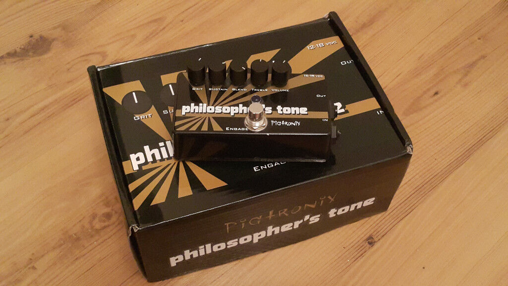 Pigtronix Philosopher's Tone compressor sustainer guitar pedal