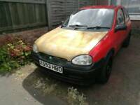 Vauxhall corsa b no offers