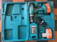 Makita 8391d combi drill 18v