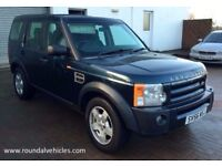 IMMACULATE 2006 LAND ROVER DISCOVERY 3 2.7 Td V6 S, AUTO, heated seats/windscreen, cruise, 7 seats!