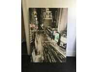 Large canvas of New York City for sale.