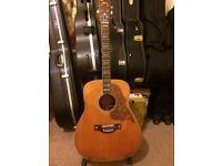 original 1970s' Yamaha FG-300 Hummingbird vintage acoustic guitar