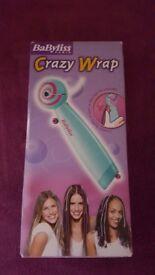 Babyliss crazy wrap hair braider.
