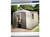 Keter 8'x8' garden shed