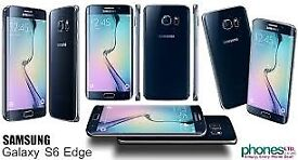 Sim Free Samsung Galaxy S6 Edge Black 64GB
