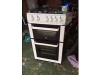 Gas Cooker Oven - Zanussi ZCG563FW