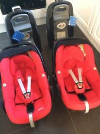 Maxi Cosi Pebble & Family Fix isofix base (2 available)