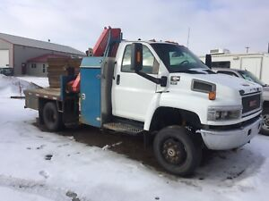 2007 GMC topkick picker Truck