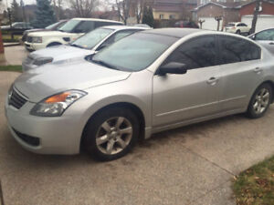 2008 Nissan Altima Sedan With Emission (PRICE REDUCED)