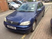 VAUXHALL ASTRA 1.6 AUTOMATIC 03 PLATE LOW MILES GOOD CONDITION £300
