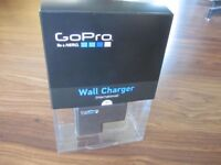 GoPro Wall Charger (international) - new and unused in original packaging