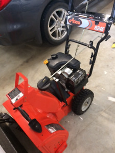 "Ariens 624E 2 stage snowblower - like new. 24"" clearing path"