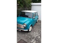 Austin mini mayfair auto,D-reg,1987,998cc,restored 2012,