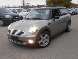 2008 MINI Cooper Clubman Clubman,Leather,Sunroof,5Speed Mnual,Al