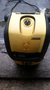 Karcher Pressure is not 100%.  Water pressure  machine k3 96m.