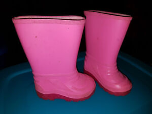 Rubber Boots toddler size 5